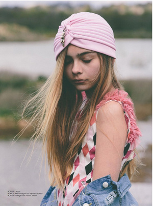 穆斯林头巾|2017年2月第3周童装潮流警报复古在童装市场越来越重图片