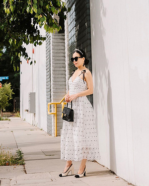 Fromdaytonight.🎶🎵🎶🍃 #lacedress#dress#chanel#ladylike(Findoutfitdetailsthroughthelinkinmyprof...