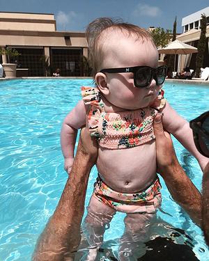 SpentFather'sDayat@montagebhandJunewentonherfirsteverswim!IthinkwehaveawaterbabyonourhandsByyY-...