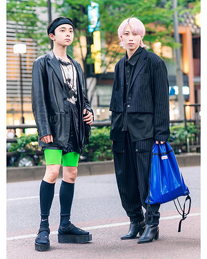 18-year-oldJapanesestudentsKaichi(@kaichisuzuki)-afashionstudentandalsoanaspiringrapper-andYusuk...