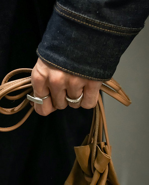 【#スナップ_fs】 Nameベクトジョシュアアキラ  Vest#nvjapan Jacket#nvjapan Pants#nvjapan Bag#SEEKE...