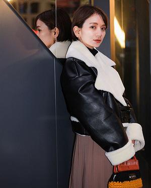 【#スナップ_fs】 Name今村仁美  Jacket#UN3D Skirt#6 Bag#MARNI  #fashionsnap #fashionsnap_womenB8g...