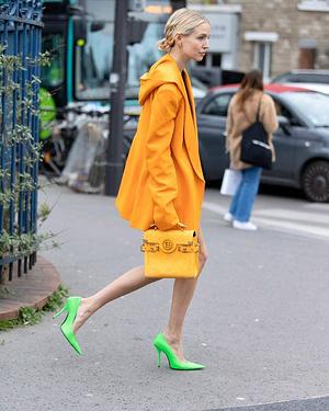 OrangeandLimefrom 📸@nickleuze @leoniehanne@balmain#streetstyle#streetphotography#streetwear#str...
